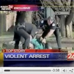 Fresno Police Beat Restrained Homeless Man